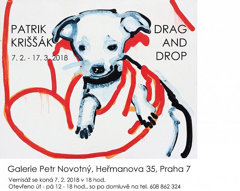 Drag and Drop v galerii Petr Novotný