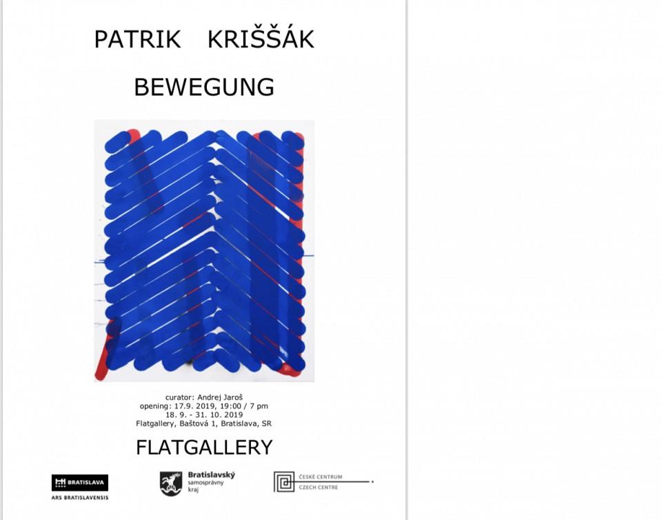 18.9. - 31.10. 2019 Bewegung, Flat gallery, Bratislava